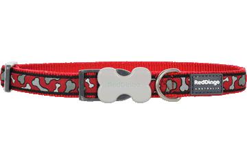 Red Dingo Dog Collar Bonarama Red DC-BR-RE