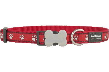 Red Dingo Dog Collar Desert Paws Red DC-DP-RE