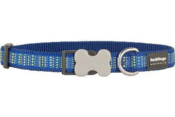 Red Dingo Dog Collar Lotzadotz Dark Blue DC-LD-DB